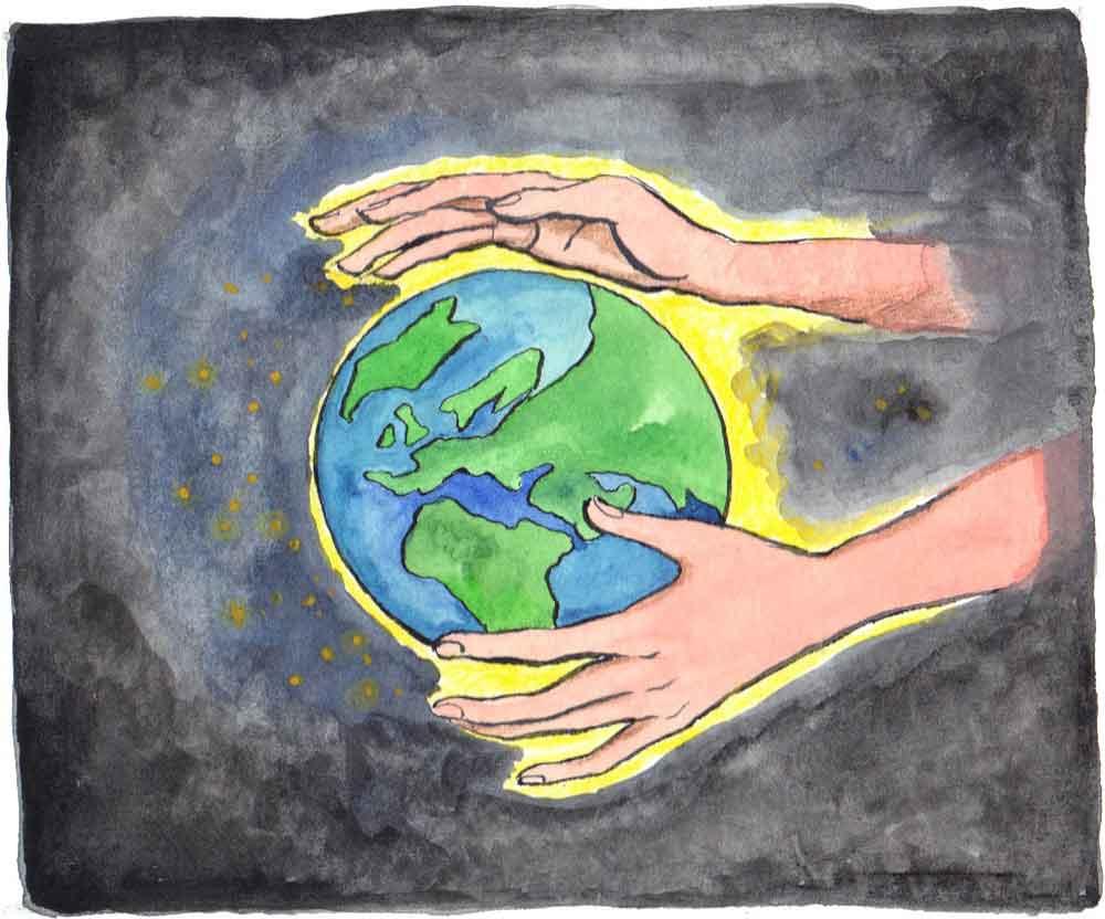 Gott Erschafft Die Welt