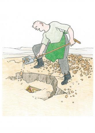 Die Geschichte vom Schatz im Acker