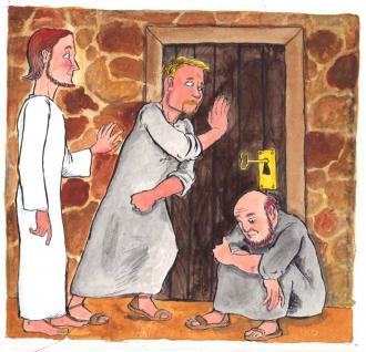Die Jünger schlossen alle Türen ab