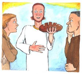 Jesus sagt: Ich bin das lebendige Brot