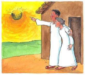 Jesus erzählt von der neuen Welt von Gott